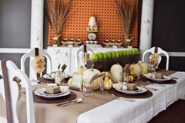 Fall Harvest Dinner Thanksgiving Party And Printables By