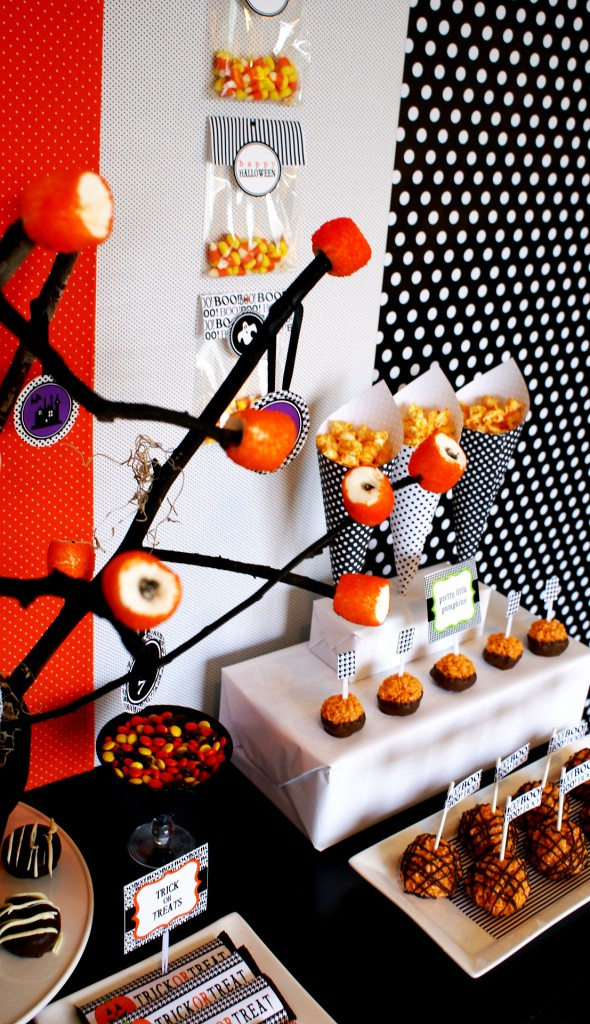 Happy Halloween printable party kit