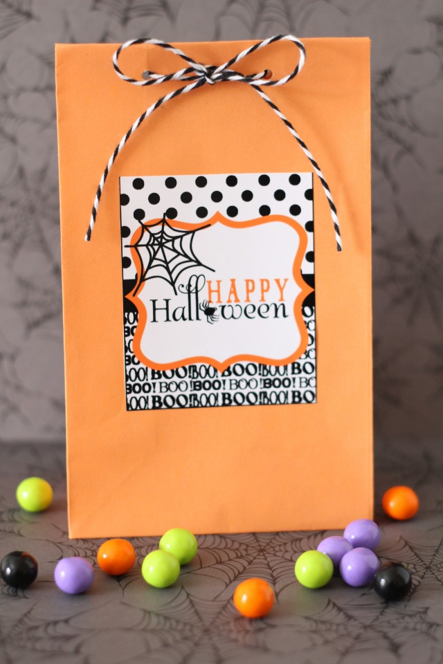 Happy Halloween Free Printable Design 3