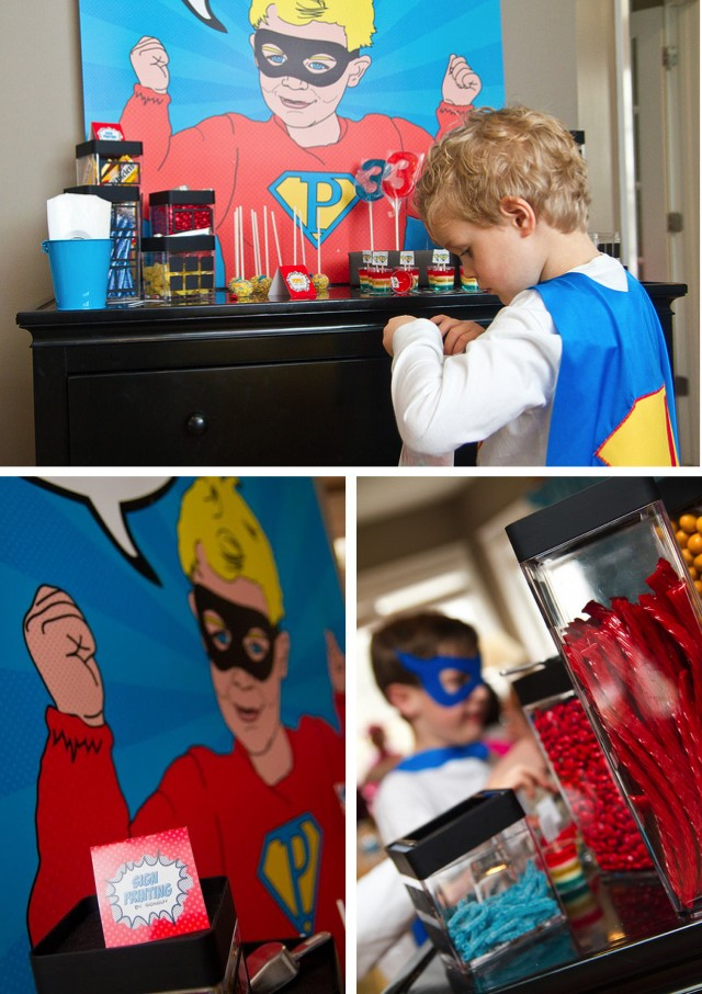 Super Hero Candy Bar
