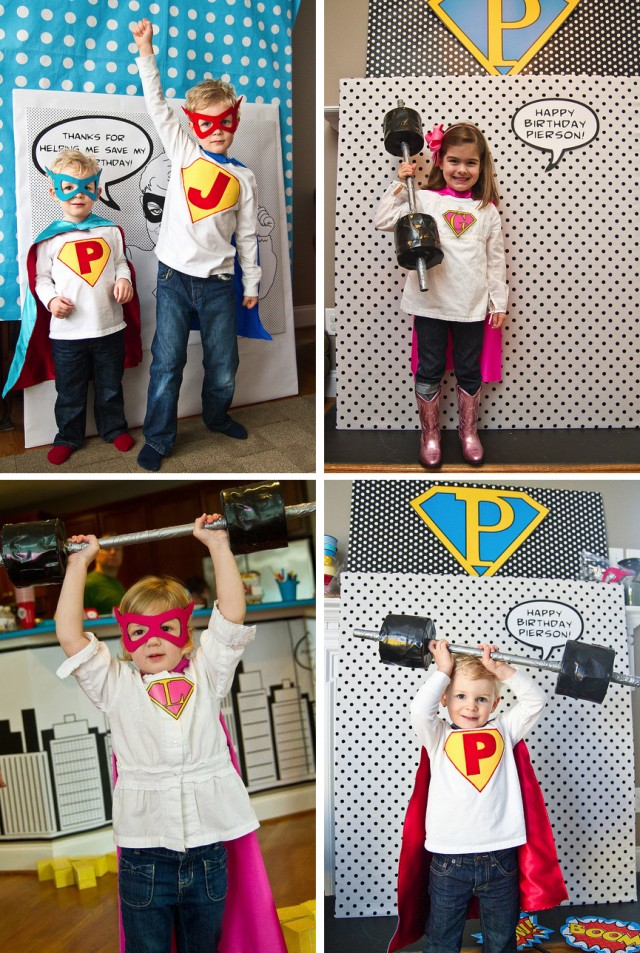 Super hero photo booth 2
