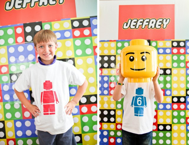 photo booth lego party