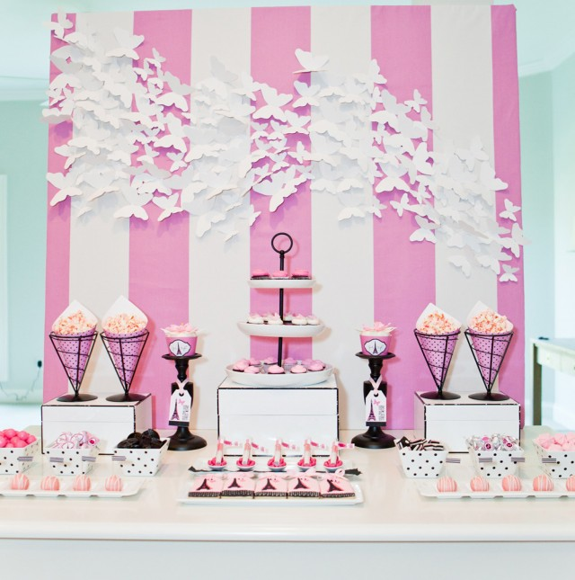 Bridesmaids DVD Blu Ray Photoshoot for Target - Dessert Table 11