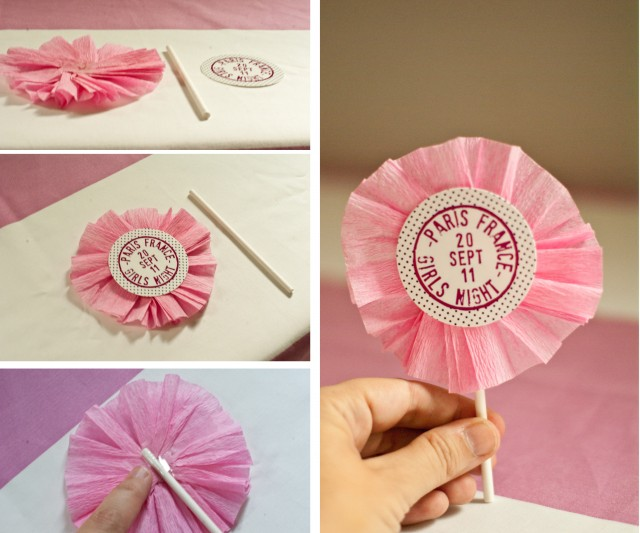Cupcake Topper with Ruffle