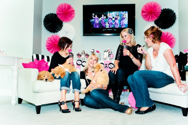 Target Bridesmaids Girls Night In Photoshoot final