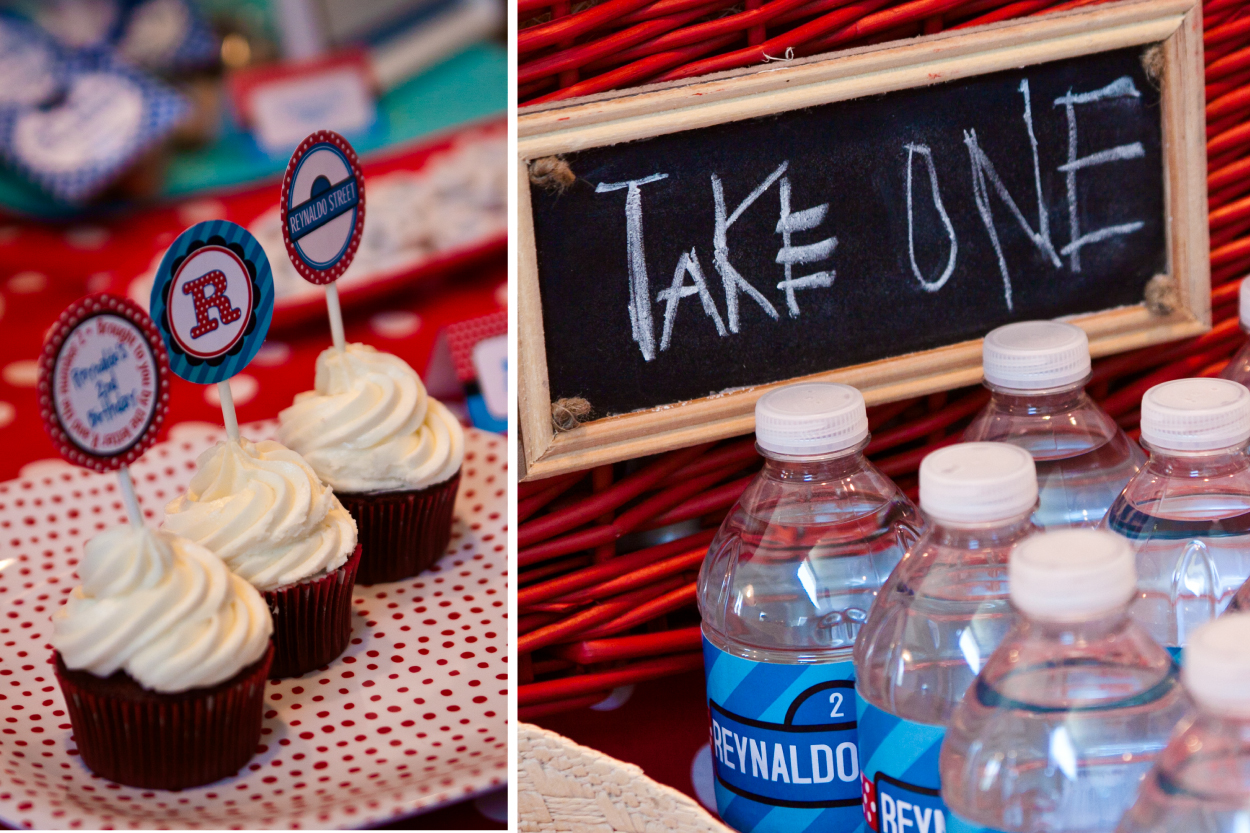 sesame street elmo inspired party