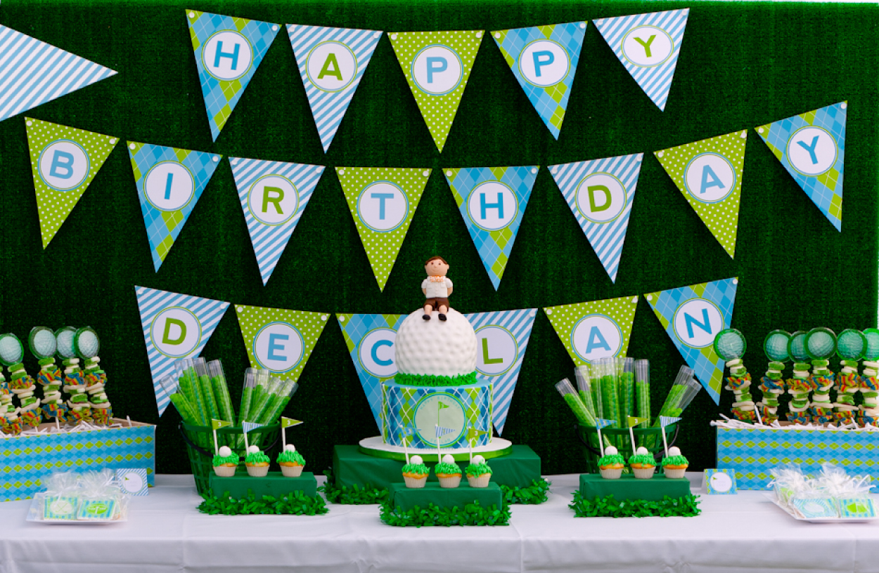 Golf Birthday Party Inspiration