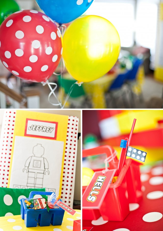 lego party decoration ideas