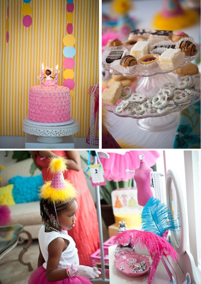 tea doll party room and table setup 9