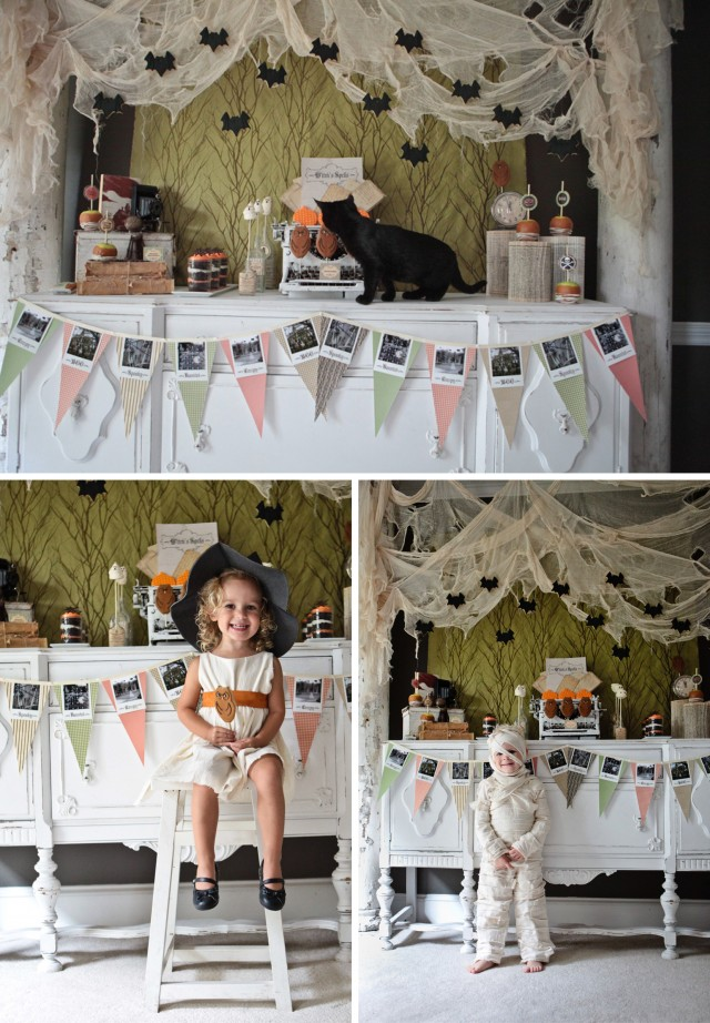 Happy Haunted Halloween Printable Design Collection Party 2