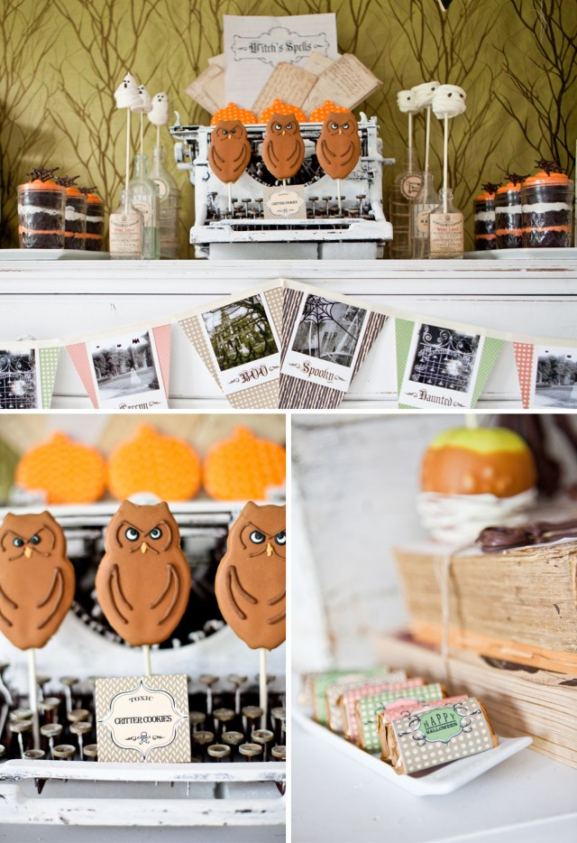 Happy Haunted Halloween Printable Design Collection Party 4
