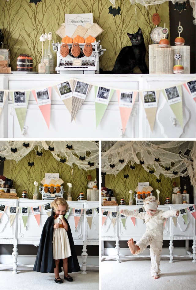 Happy Haunted Halloween Printable Design Collection Party 8