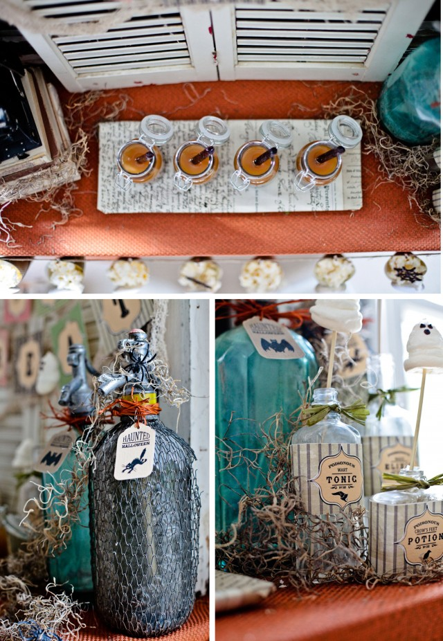 Happy Haunted Halloween Printable Design Collection Party 20