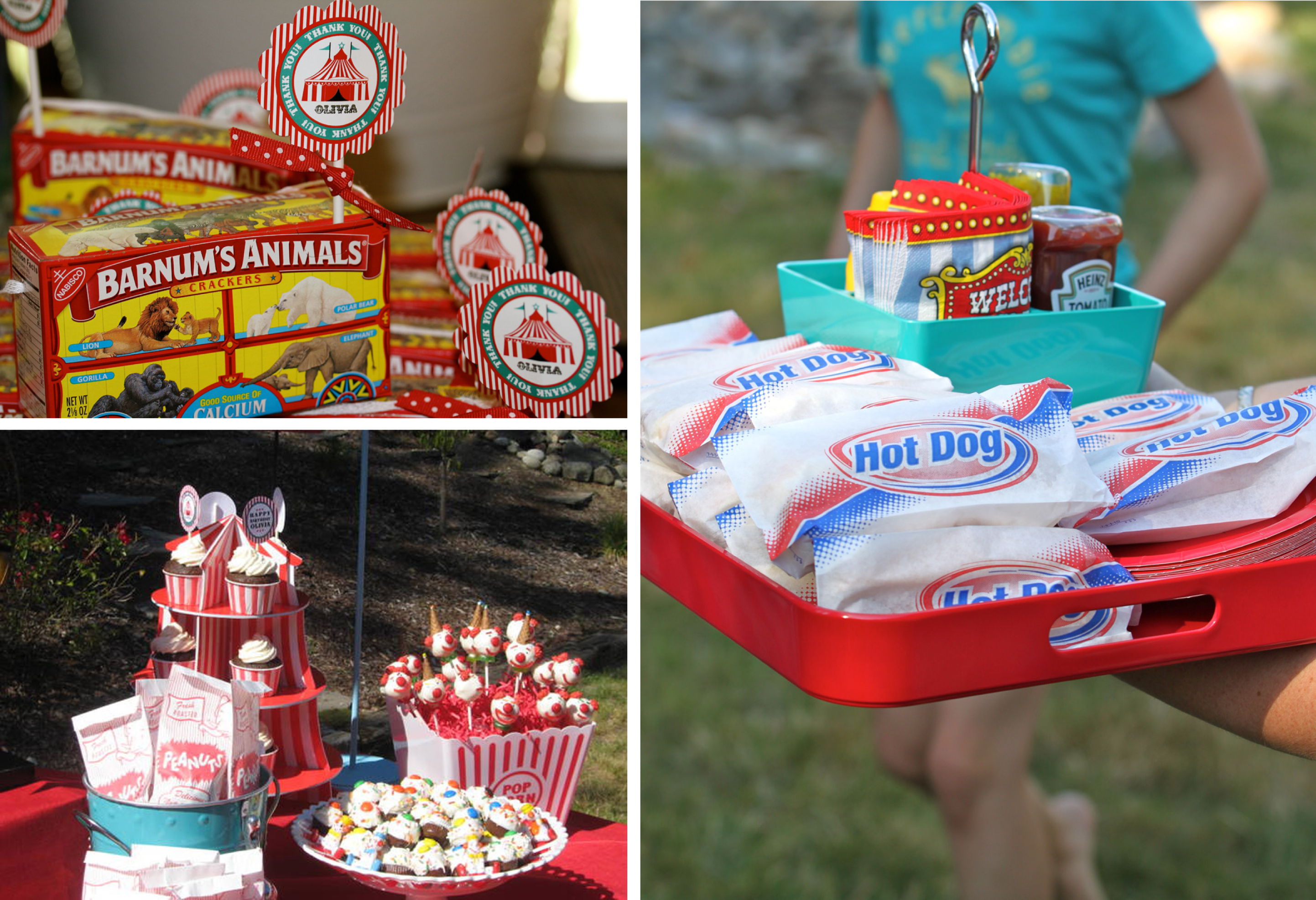 A vintage carnival style birthday party anders ruff custom designs llc - Carnival foods ideas ...