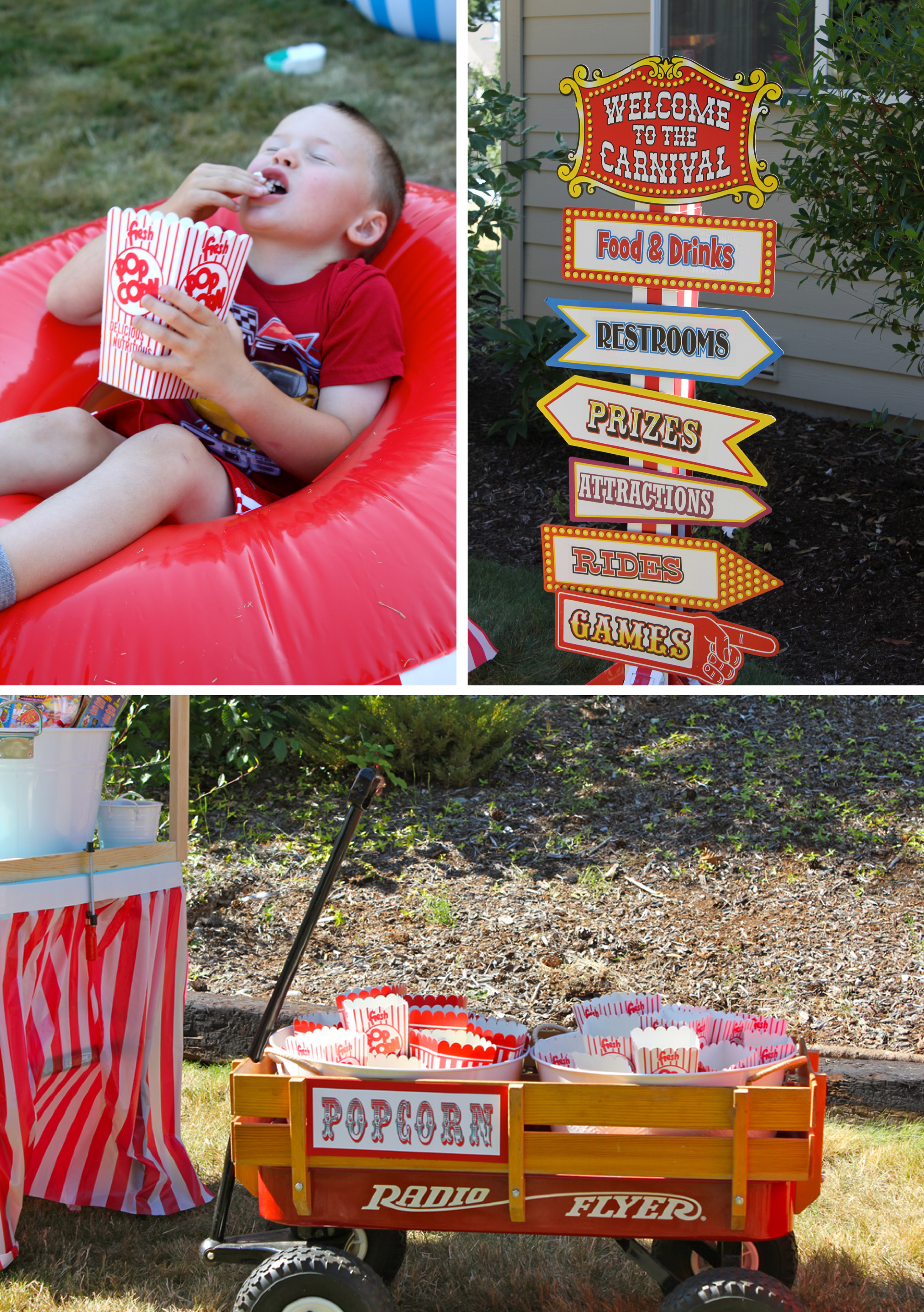 A Vintage Carnival Style Birthday Party
