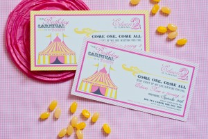 Vintage Carnival Birthday Party Invitation-6