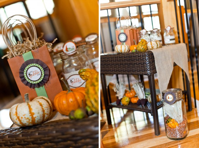 Thanksgiving Kids Table Printables Photoshoot drink table