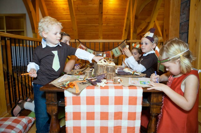Thanksgiving Kids Party Decor Setup Printables