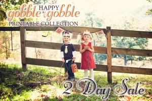 Thanksgiving Printable Collection Sale for 2 Days