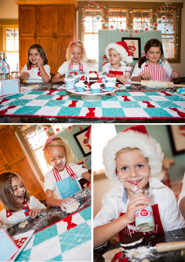 cookie baking exchange christmas party decor ideas