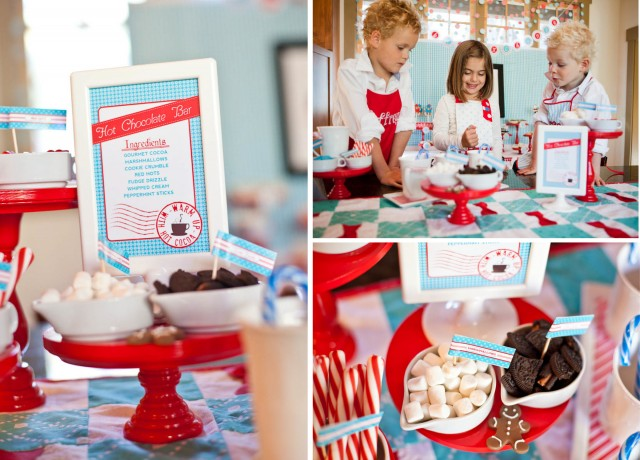 christmas hot chocolate bar printables