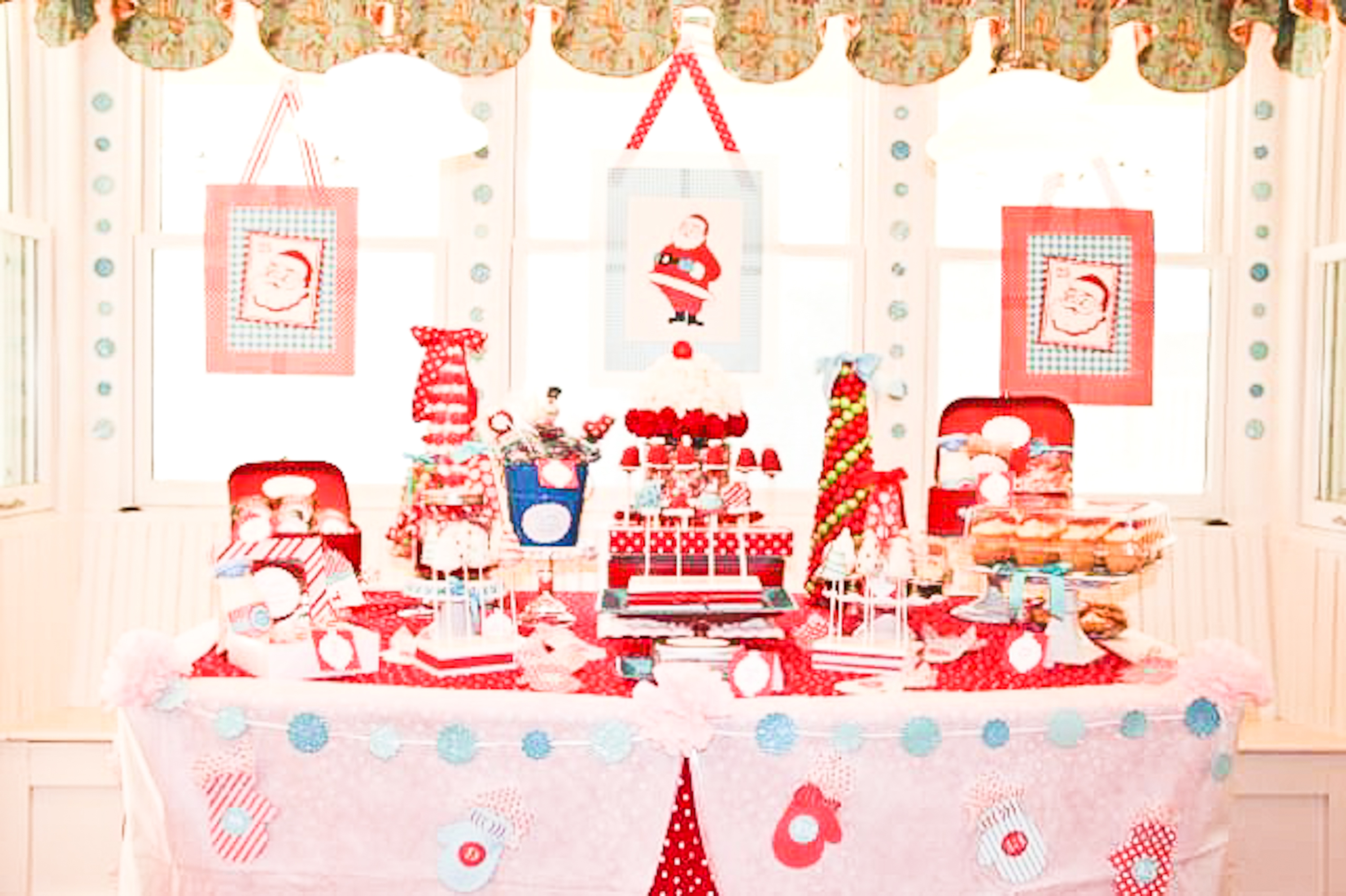 christmas party north pole dessert bar-01