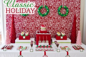 classic holiday christmas party printables