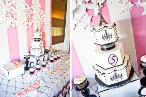 parisian themed birthday party