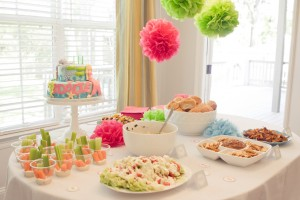 mermaid birthday party printables dessert table