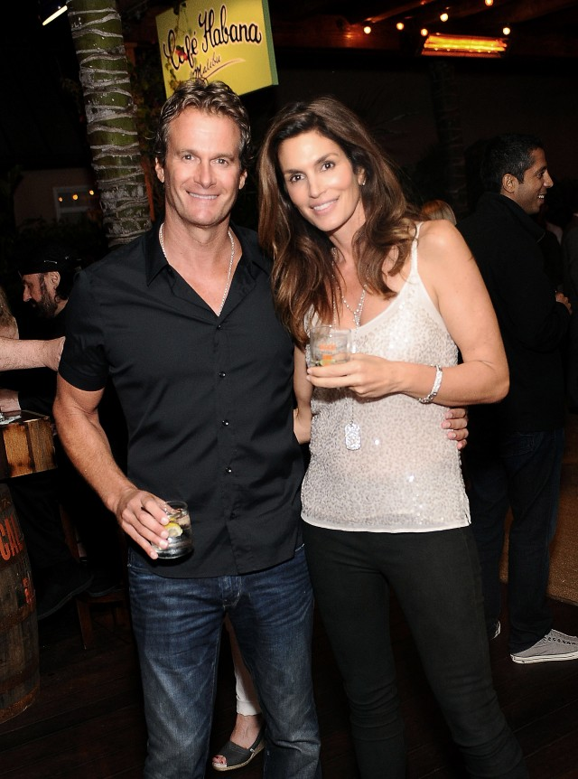 Rande Gerber And Cindy Crawford's Pre 4th Of July Party Sponsored By Caliche Rum At Cafe Habana Malibu