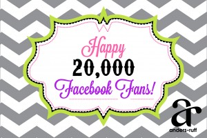happy 20000 facebook fans