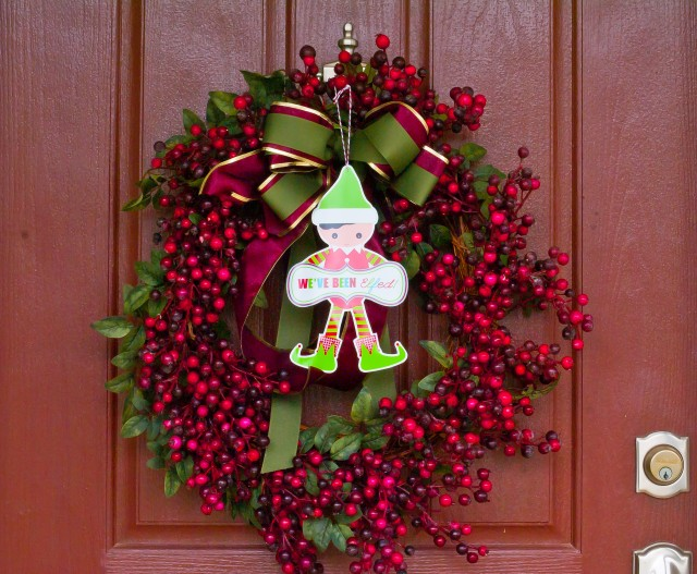 Elf on the door