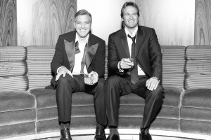 Casamigos Tequila founders George Clooney and Rande Gerber