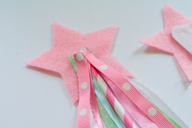 glue on ribbons