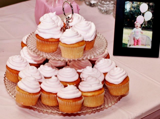 Sweet shoppe birthday party cupcakes