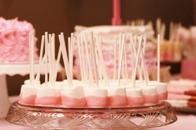 Sweet shoppe birthday marshmellows and desserts