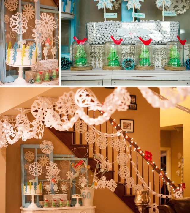 winter-wonderland-dessert-table-garland-snow-globes-meringue-chocolate-trees-red-birds