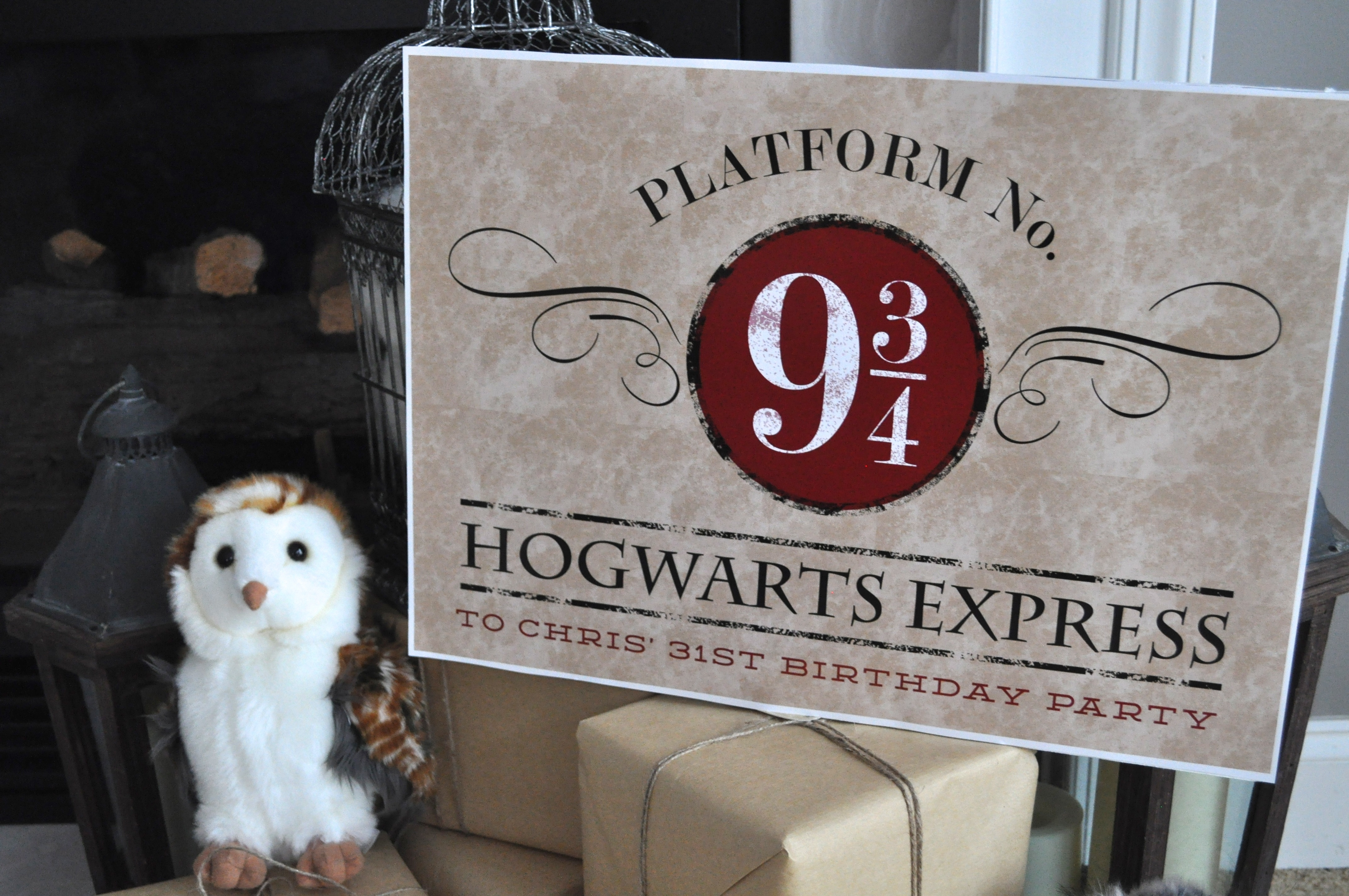It is an image of Vibrant Hogwarts Sign Printable