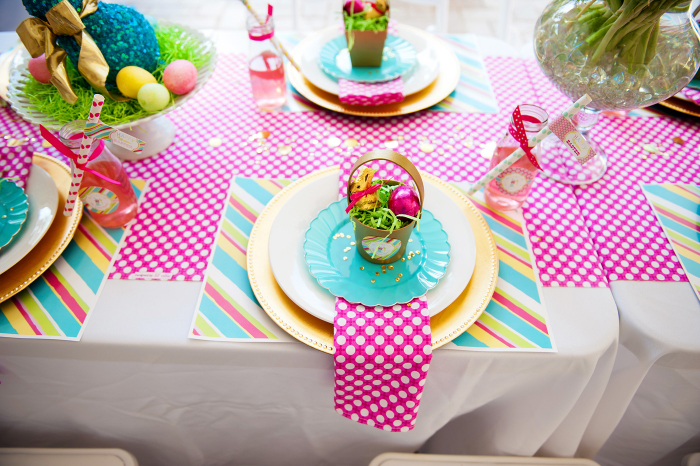 A Bright And Colorful Easter Party Anders Ruff Custom