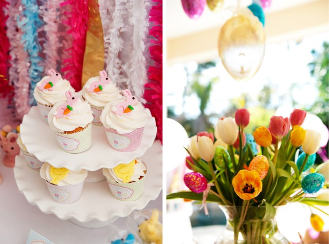 easter floral centerpieces
