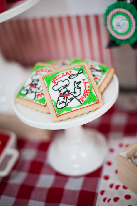 pizzeria party cookies