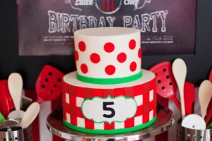 pizza party cake ideas