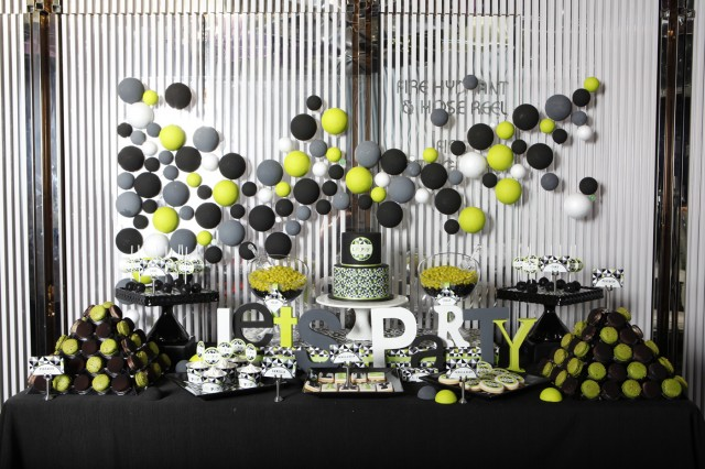How To Decorate Table For Birthday Party Photograph The 3d