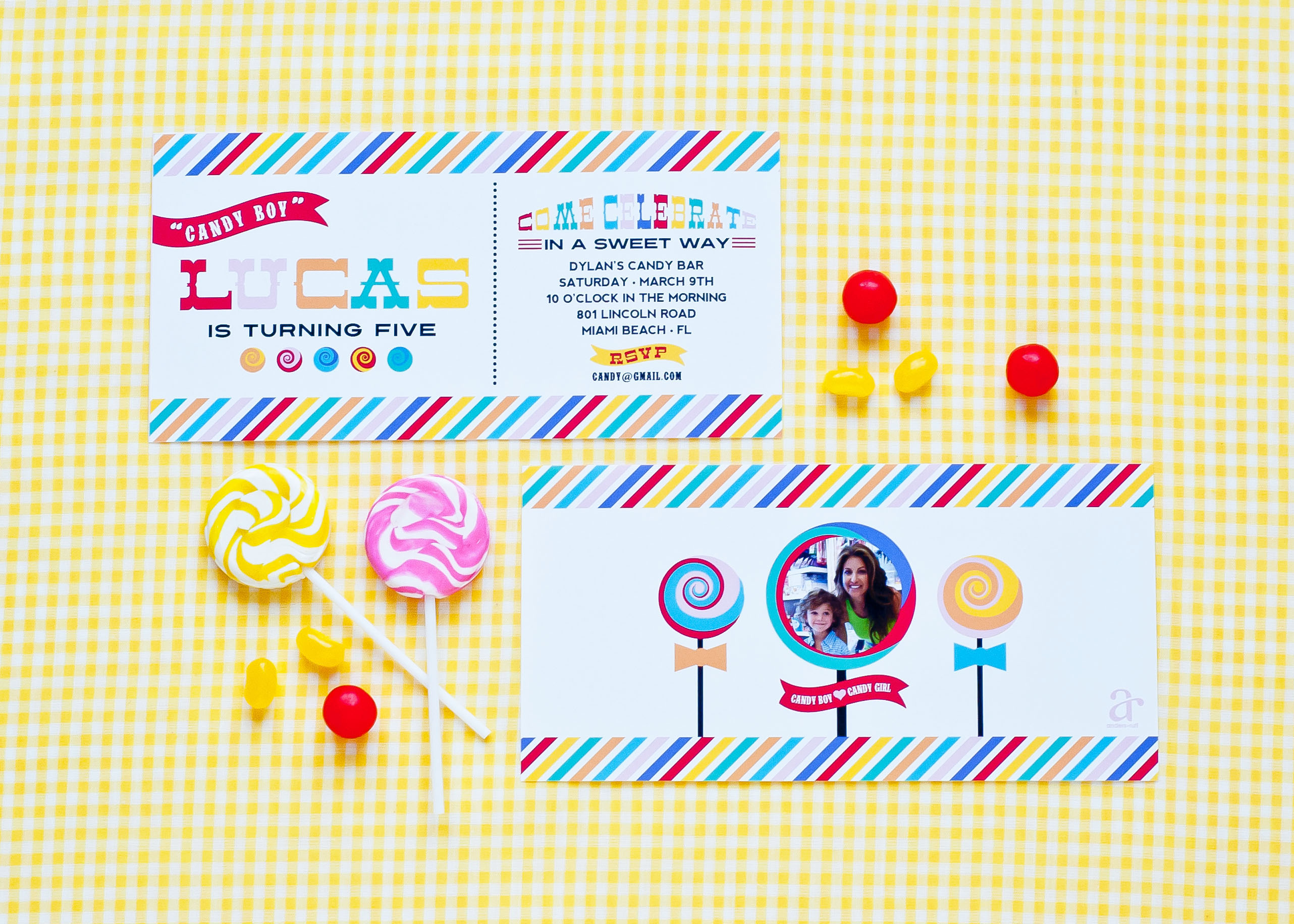 dylans candy bar candy shop invitation2 Birthday Party Ideas Raleigh