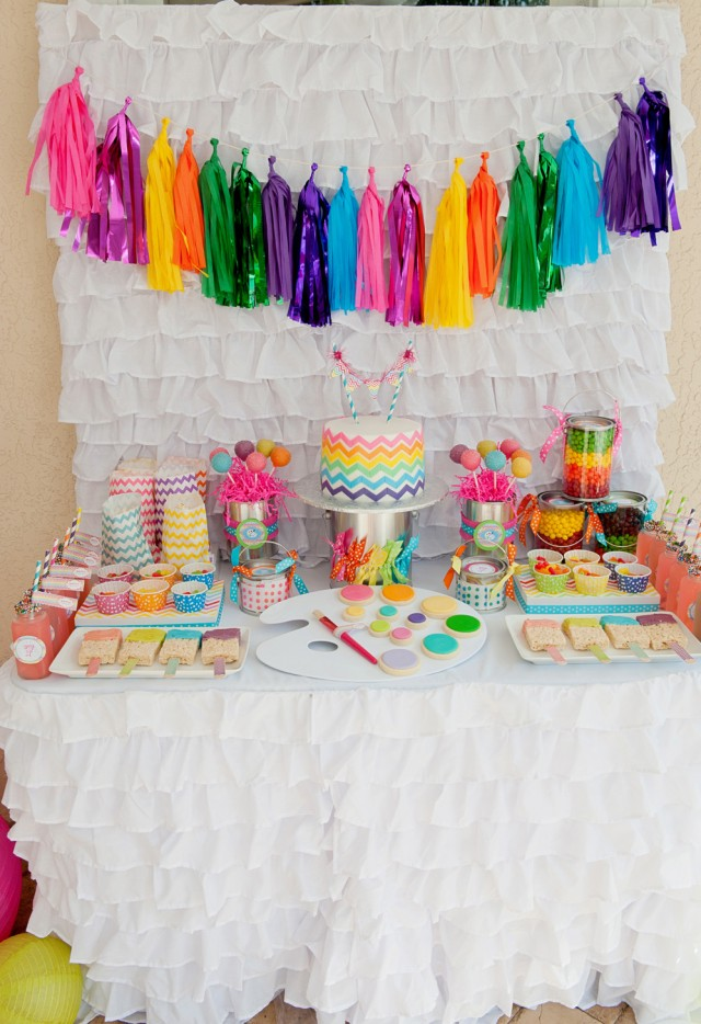 Giveaway a tissue tassel garland kit from the flair for Art and craft for decoration