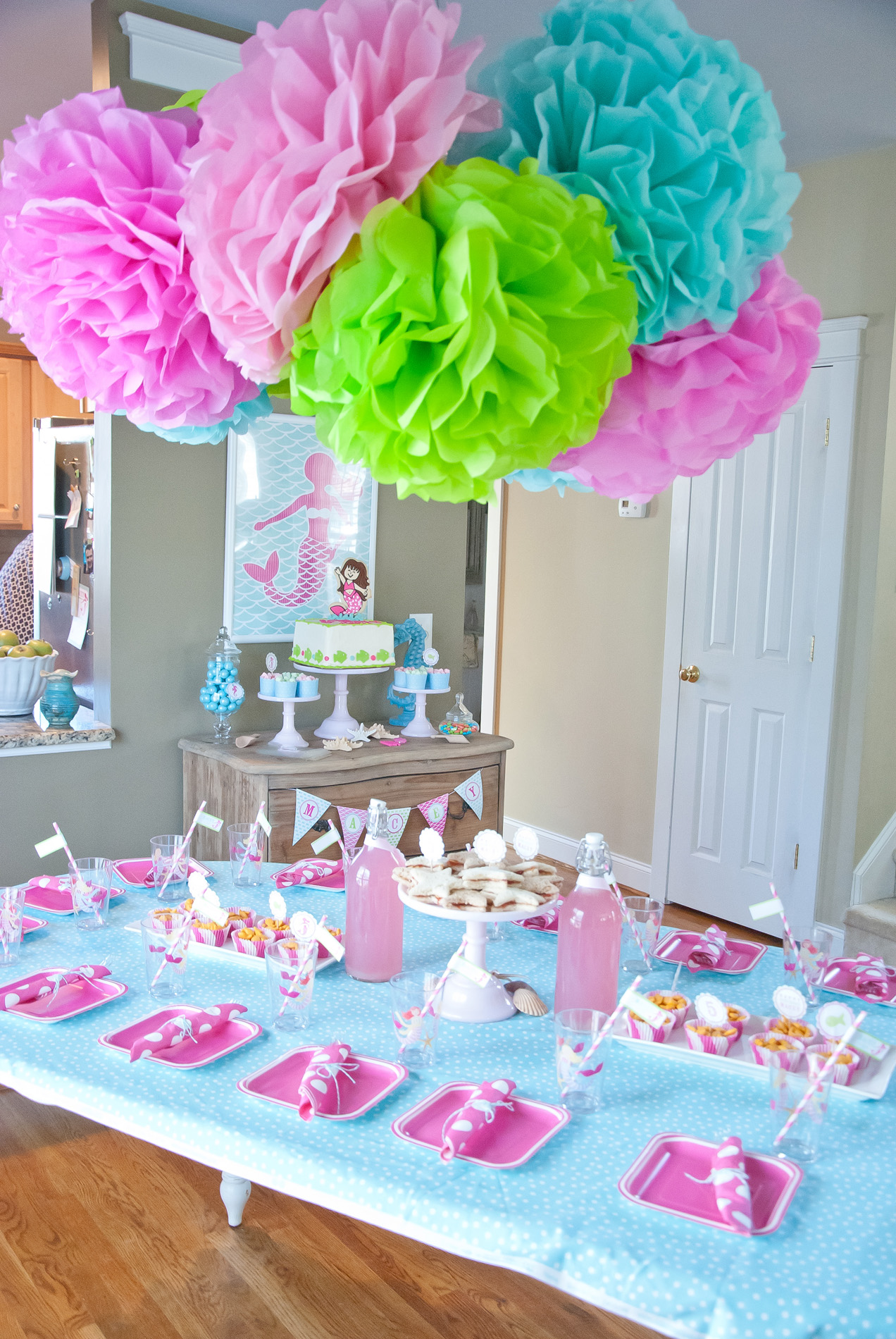 A Dreamy Mermaid Birthday Party - Anders Ruff Custom ...