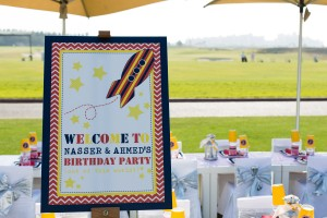 rocket party printables