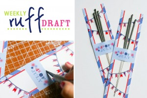 Free printable 4th of July Holder on the Ruff Draft