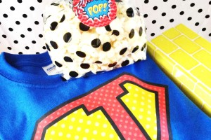 super hero party favor printables