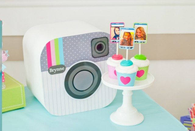 instagram party cupcakes